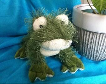Frog Stuffed Animal Plush Toy by Ganz