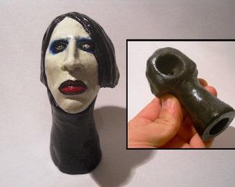 Marilyn Manson - ceramic