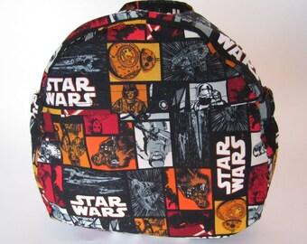 Black Star Wars Deluxe Boy Toddler Backpack
