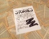 Stories Quote Print
