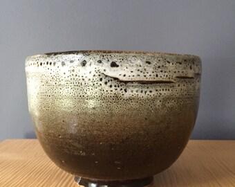 MCM ceramic centerpiece bowl