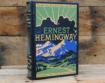 Hollow Book Safe - Ernest Hemingway - Leather Bound