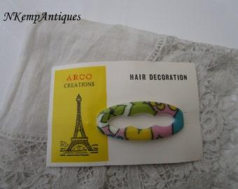 Retro french barette/hairslide
