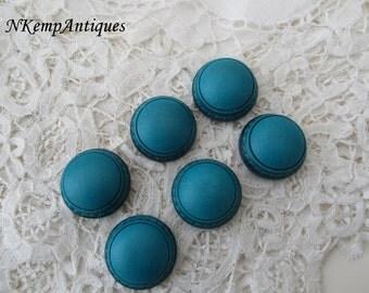 Vintage button x 6