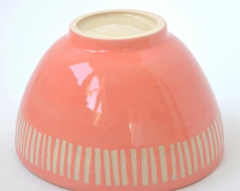 Bowl in coral
