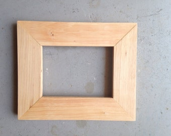 5x7 Pecan Wood Picture Frame