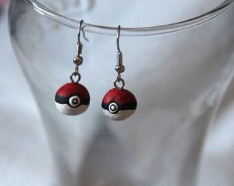 Pokeball Earrings!