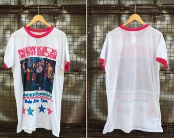 Vintage 1990 New Kids on the Block T shirt