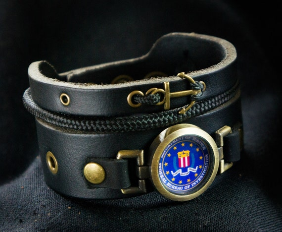 Fbi Bracelet Anchor Bracelet With The Federal Bureau Of