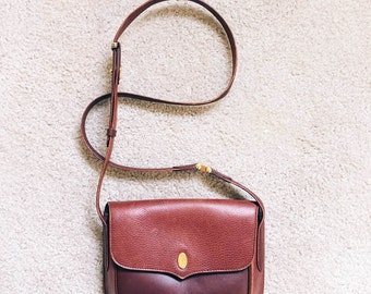 Authentic Vintage Must de Cartier handbag - Burgundy