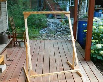"""36""""x46"""" Adjustable Twining Loom"""