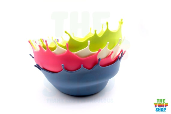 Menu Dropp Bowl Fruit Bowl By Niels Romer Silicone By Thetgifshop