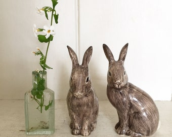 A delightful Salt 'n pepper Rabbit set