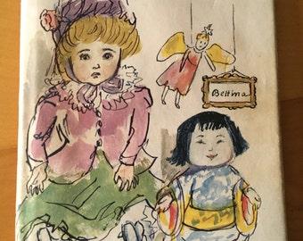 Vintage Children's Book - Dolls by Bettina - Antique childrens books - Kids dolls book