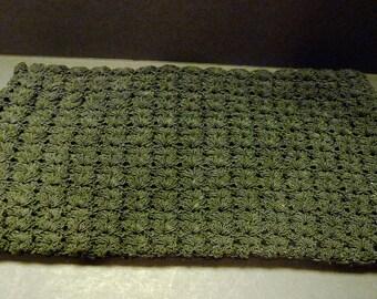 3.00 SALE ~ Large Knot Clutch Black Purse