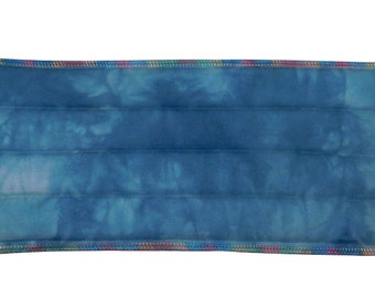 Hand-Dyed Wide All Purpose Hot Pack, Microwave Neck Wrap, Shoulder Wrap, Heating Pad, Back, Neck