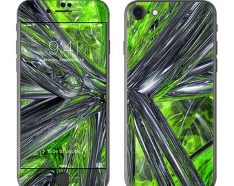 Emerald Abstract - iPhone 7/7 Plus Skin - Sticker Decal