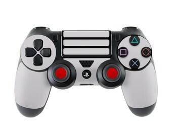 Sony PS4 Controller Skin Kit - Retro Horizontal  - Decal Sticker