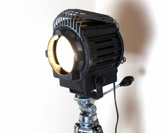 Stage light - Home Theater Decor -  Vintage Thalhammer Tripod floor lamp