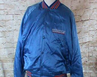 Vintage WalMart Blue Jacket Windbreaker