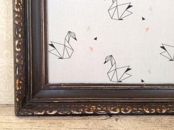 tableau d 39 affichage babillard aimant recouvert tissu. Black Bedroom Furniture Sets. Home Design Ideas