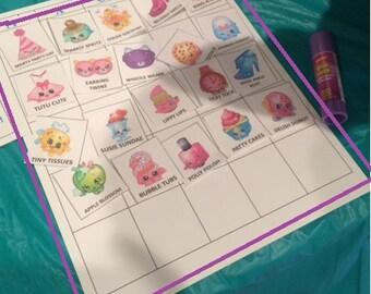 Design Your Own Shopkins Bingo Game!