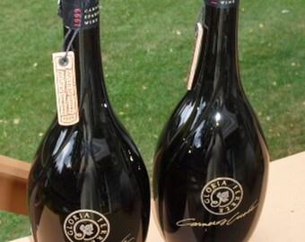 2 Beautiful 1999 Gloria Ferrer Carneros Cuvee Wine Bottles