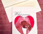 Romantic Cam'ron Card (May not arrive in time for Valentine's Day 2/14/2016 Unless you check out with Express Shipping)