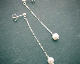 Pearl Droplet Earrings