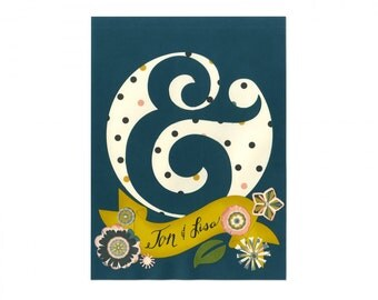 New! Sizzix Thinlits Plus Die Set 14PK - Ampersand by Lynda Kanase