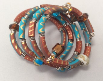 Polymer Clay Fun and Funky Bracelets