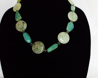 Cottage Chic Stone Necklace