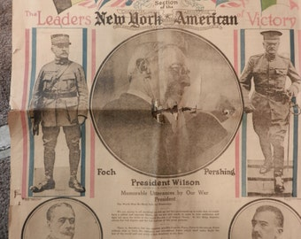 World War I - Newspapers from that time