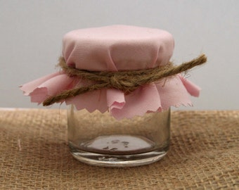 Baby Pink Favours - Bridal Showers - Baby Shower - Mini Jar Favour