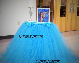 Tutu Table Skirt Etsy