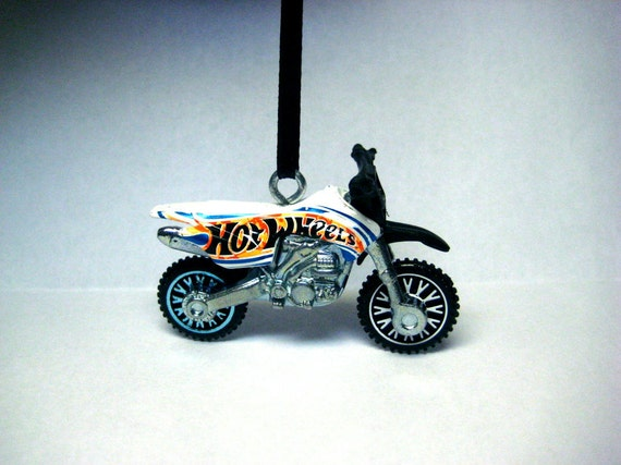 dirt bike motorcycle hot wheels christmas ornament. Black Bedroom Furniture Sets. Home Design Ideas