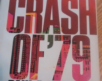 The. Crash of 79 Hardback book