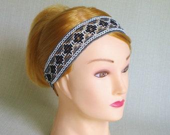 Vintage Lace headband Adult Lace head bands for Womens headband Boho headband Fashion hair accessories Elastic Festival Hippie headband Gift