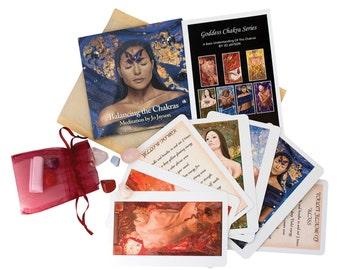 Chakra Meditation Kit & CD