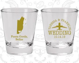 Belize Shot Glass, Belize Shot Glasses, Belize Glass, Belize Glasses, Belize Glassware (162)