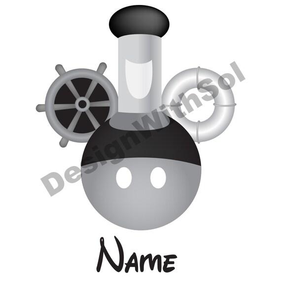 Steamboat willie orejas de mickey personalizadas con el - Papel de transferencia para plancha ...