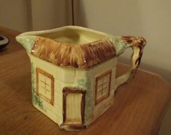 Cottage ware milk jug possibly Price Kensington