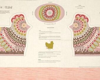 Alexander Henry - Chicken In The Kitchen - #8317D - Lt. Tea/Soft Pink