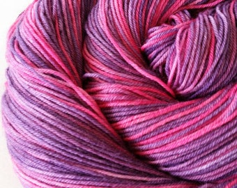 Hand dyed - Superwash merino wool yarn