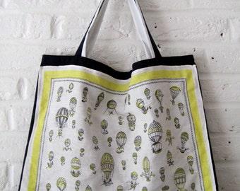 Handmade Recycled Hot Air Balloon Bag