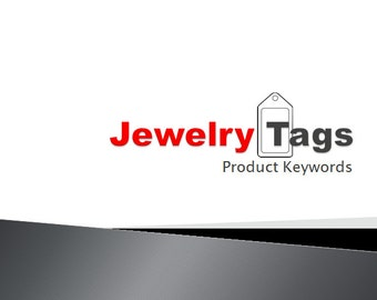 Jewelry Tags Product Keywords SEO View Booster