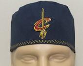 Scrub hat/ Cavs/ Mens scrub hat