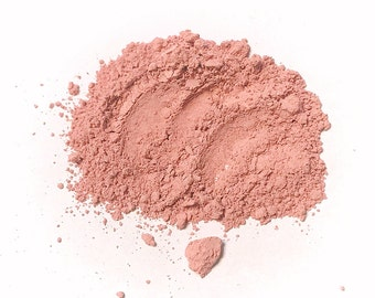 LULLABY Natual Mineral Blush - Titanium Free Cheek Face Color - Gluten Free Vegan Makeup - Mica Free