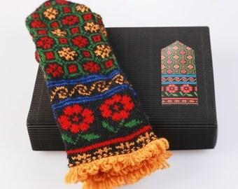 Latvian Mitten DIY Knitting Kit Knit like a Latvian KURZEME