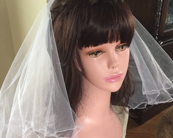 Holy First communion veil and tiara